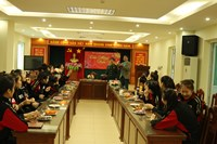 Câu lạc bộ bóng chuyền nữ BTL Thông tin - LienVietPostbank Tưng bừng khai xuân ngày đầu năm mới