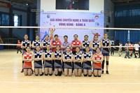 Đội Trẻ Binh chủng Thông Tin xuất sắc lọt vào vòng bán kết giải bóng chuyền hạng A 2018