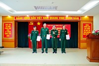 Bộ Tư lệnh Thông tin liên lạc Công bố trao Quyết định bổ nhiệm HLV, TL HLV và Giao nhiệm vụ thi đấu Vòng bảng giải Vô địch quốc gia, Cúp Hùng vương năm 2018