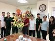 CLB bóng chuyền nữ BTL Thông Tin - LienVietPostBank chúc mừng ngày Báo chí Cách mạng Việt Nam