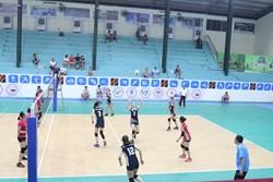 Binh chủng Thông Tin tìm kiếm chiến thắng tại vòng bán kết giải bóng chuyền hạng A