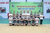 Binh chủng Thông tin xuất sắc lọt vào vòng chung kết giải bóng chuyền hạng A năm 2018