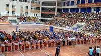 Đội Trẻ CLB Bóng chuyền nữ BTL Thông tin - LienVietPostBank thắng áp đảo ngày đầu ra quân