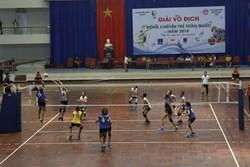 Đội trẻ CLB bóng chuyền nữ BTL Thông tin - LienVietPostbank giành quyền vào chung kết sau chiến thắng 3-1 trước Ngân Hàng Công Thương