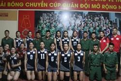Tuyển nữ Quân đội có chiến thắng thứ 2 liên tiếp tại Cup Quân đội mở rộng 2018