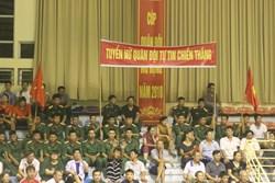 Thắng dễ trước Ngân Hàng Công Thương, tuyển Quân đội tự tin bước vào lượt trận cuối vòng bảng Cup Quân đội mở rộng 2018