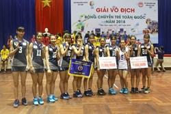Đội trẻ CLB bóng chuyền nữ BTL Thông tin - LienVietPostBank đặt mục tiêu lọt vào chơi trận chung kết giải bóng chuyền trẻ cúp các CLB năm 2018
