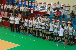 Đội trẻ CLB bóng chuyền nữ BTL Thông tin - LienVietPostBank giành quyền vào bán kết giải bóng chuyền trẻ cúp các CLB năm 2018