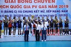 BTL Thông tin - LienVietPostBank xuất sắc đăng quang giải bóng chuyền VĐQG lần thứ 10 trong lịch sử