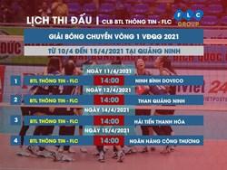 BTL Thông tin - FLC tự tin hướng tới giải bóng chuyền VĐQG 2021